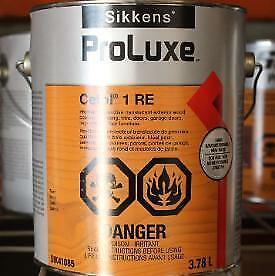 Sikkens Proluxe Oil Base Stain For Your Wooden Deck Log House Cottage Shed Chair Furniture Ontario Preview