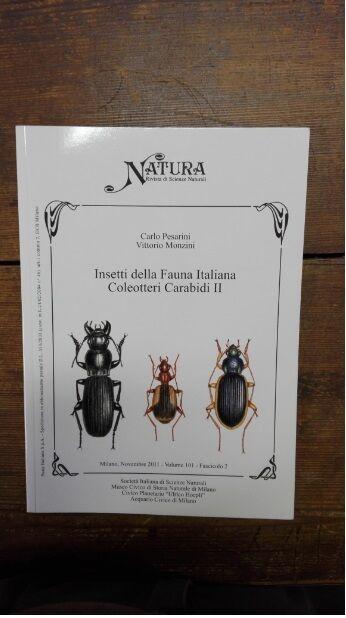 PESARINI C. & MONZINI V - Insetti della Fauna Italiana Coleotteri Carabidi II