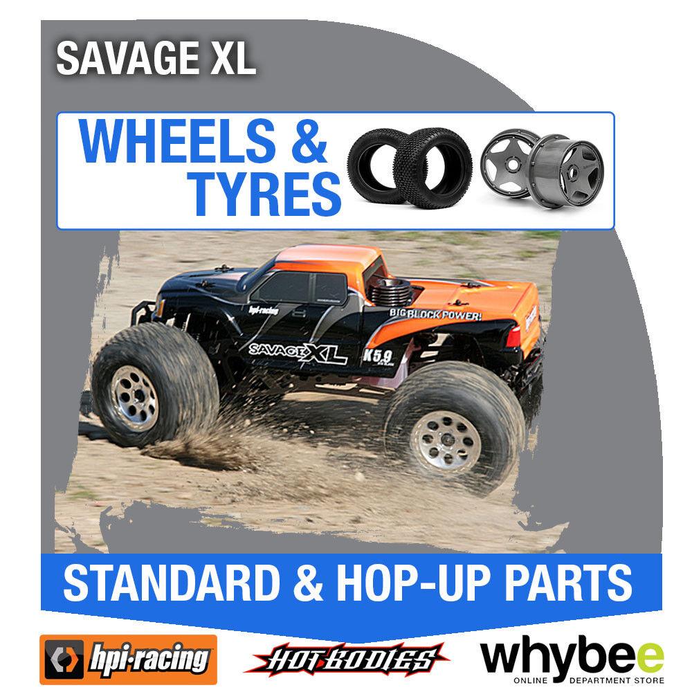 HPI HPI HPI SAVAGE XL [Wheels & Tyres] Genuine HPi 1 8 R C Standard   Hop-Up Parts 7c1a3f