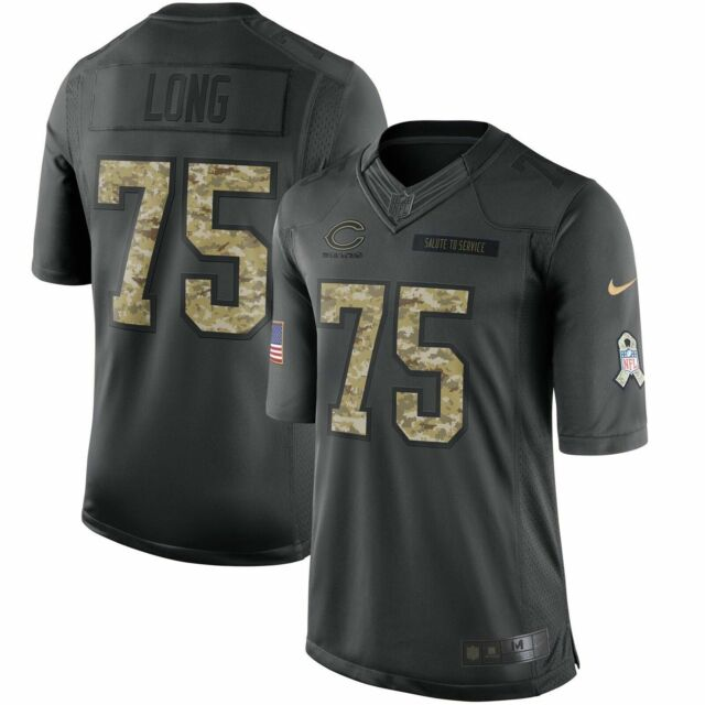 on sale 2eff5 7f17d Authentic Nike Kyle Long Chicago Bears Salute to Service Jersey Men XL NFL
