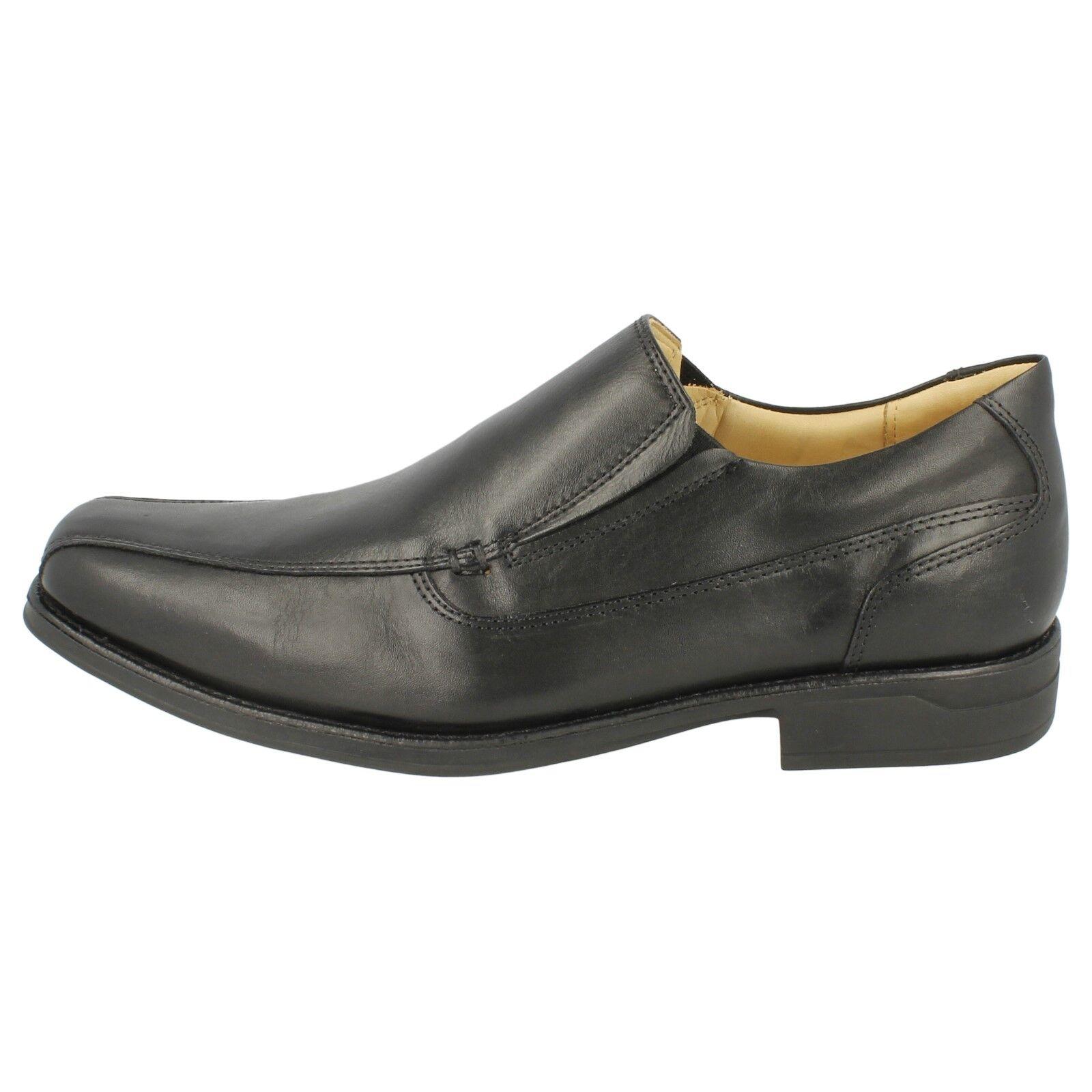 Mens Anatomic Leather & Co Poloni Black Leather Anatomic Smart Slip On Shoes e5f2f2