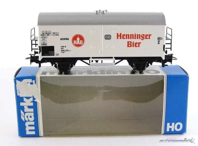 Märklin 81017 4415 H0  SoMo Bierwagen Henninger Bier der DB mit OVP X00001-07016