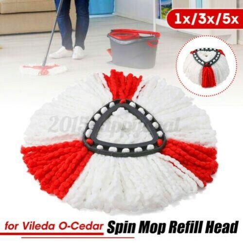 Spin Mop Sauber Nachfüllung Kopf Für Vileda O-Cedar Ersatz Mikrofaser