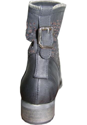 T36 Nero in ridotto strass pelle Prezzo Transat l'estrosa Boutique Stivaletti caviglia SawTBqFq