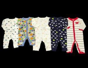 Baby Boy Newborn 3 Months Carter S Cotton Summer Sleeper Pajama Clothes Lot Ebay