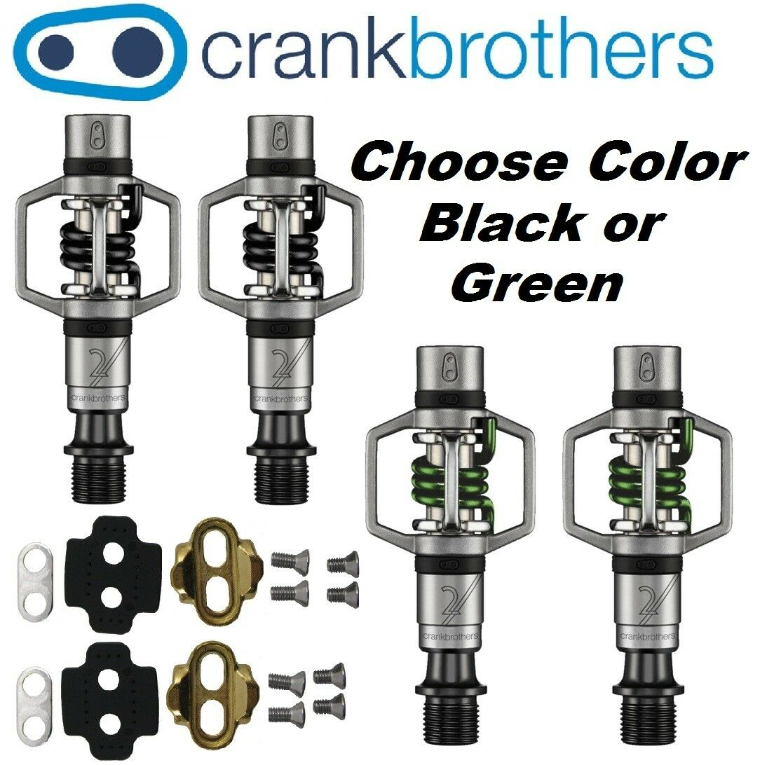 Crank Bredhers Eggbeater 2 Clipless Bike XC Trail Pedals Cleats Bros Choosecolor