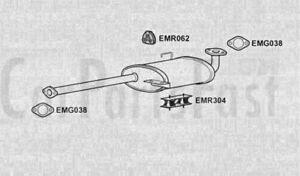 Exhaust Rear Box Isuzu Trooper 3.0 Diesel ATV//SUV 05//1998 to 02//2001