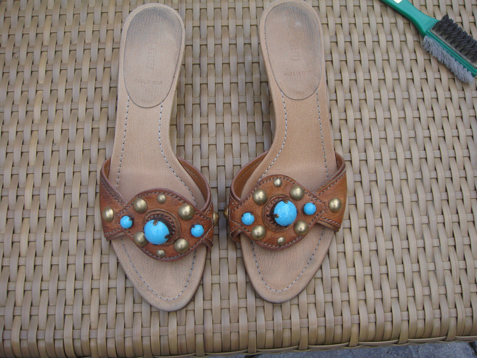 MIU MIU Schuhe Pantolette Gr.38