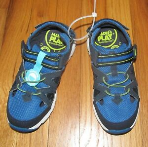 Stride Rite Boys Made 2 Play Blue Shoes 2M NEW