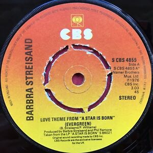 Barbra-Streisand-Love-Theme-From-A-Star-Is-Born-CBS-Records-4855-Ex