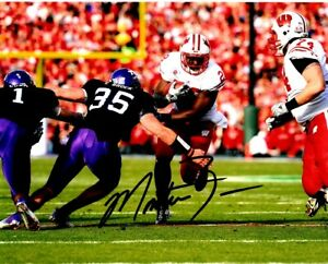 Montee Ball Signed - Autographed Wisconsin Badgers 8x10 ...