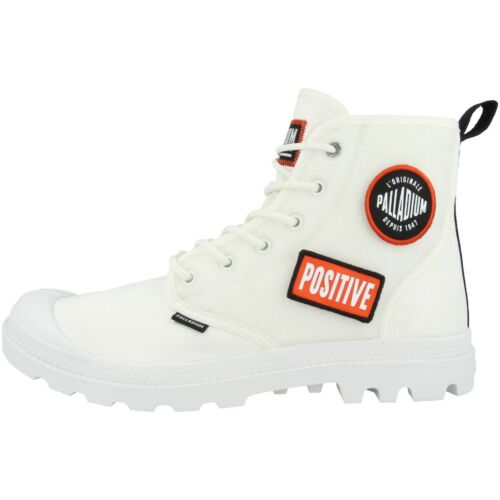 Palladium devoir Hi change Boots Chaussures High Top Loisirs Sneaker White 76648-116
