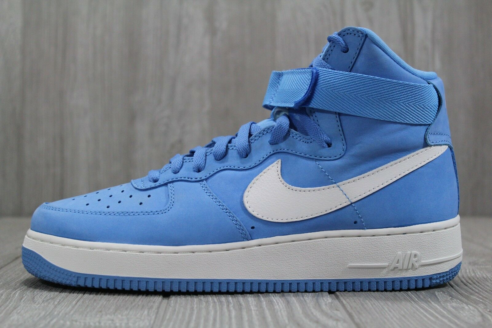 9275e7d6e8 36 Nike AF1 Air Force 1 Hi Retro QS University bluee Carolina shoes  743546-400