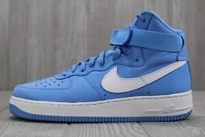 Mens Nike Air Force 1 Hi Retro QS 743546 400 University Blue Sz 10