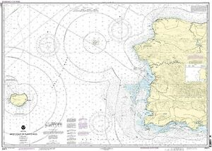 NOAA Chart West Coast of Puerto Rico 19th Edition 25671