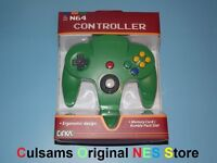 Nintendo 64 N64 (solid-green) Controller With A 30 Day Guarantee