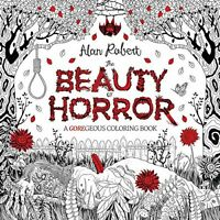 The Beauty Of Horror A Goregeous Coloring Book on sale