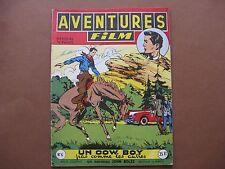 ARTIMA  :  AVENTURES-FILM n° 4 (1952) Un cow-boy pas comme les autres