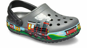 dd536fc83041 Image is loading Crocs-Kids-Fun-Lab-Train-Band-Clog
