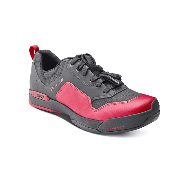 Specialized 2Fo Cliplite Lace Shoe Red/Black 42.5