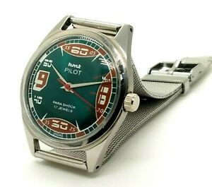 hmt-pilot-vintage-hand-winding-men-039-s-stainless-steel-India-made-wrist-watch