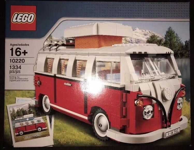 LEGO Creator Volkswagen T1 Camper Van 10220 10220 10220 ucs starwars rare Sculptures VW Bus 97d7cb