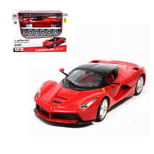 1 24 Ferrari Laferrari Assembly Line Metal Diecast Kit Model Car Ebay