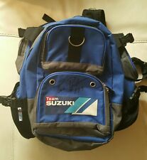 TRAVIS PASTRANA TEAM SUZUKI HIS PERSONAL SIGNED AUTOGRAPHED BACKPACK