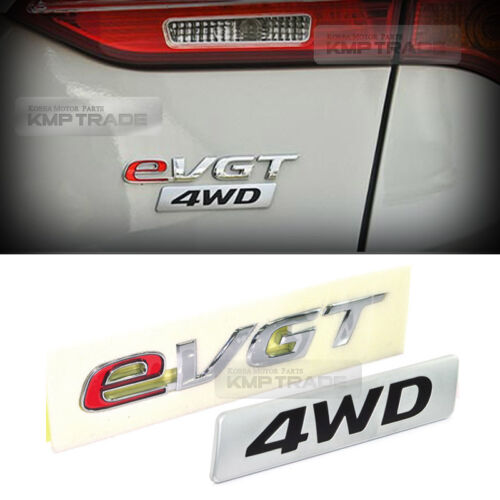 OEM Genuine Trunk eVGT 4WD Lettering Emblem for HYUNDAI 2013-2016 Santa Fe DM