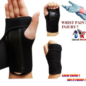 Carpal-Tunnel-Wrist-Guard-Band-Brace-Support-Sprain-Arthritis-Splint-Band-Strap