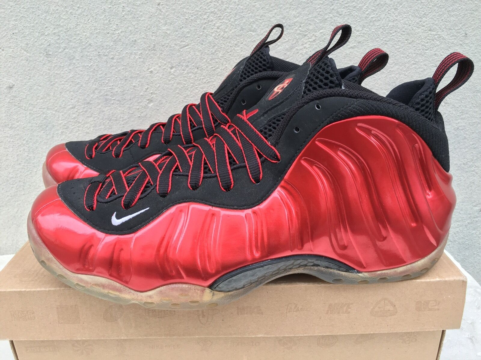 Nike Air Foamposite One Red black royal blue pro copper electric green hoh pearl best-selling model of the brand