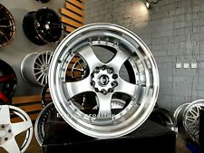 New 4x 18 Inch 5x120 Ssr Meister Sp1 Style Wheels For Bmw Jdm Work Deep Dish