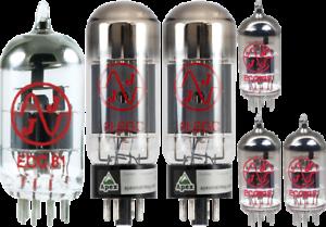 for Fender Bassman /& Bandmaster Tube Set JJ Electronics Tube Brand