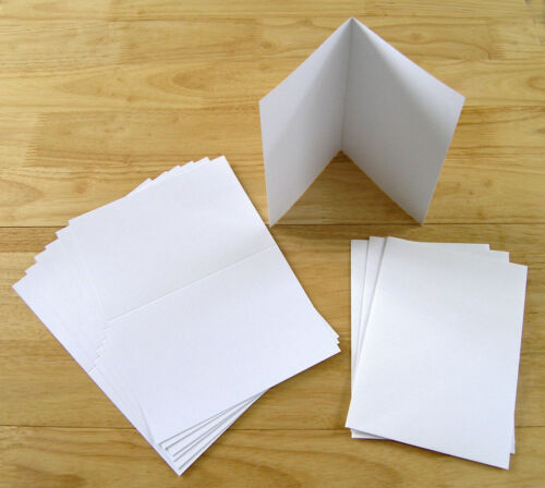 pack Laser Printable Blank Greeting Cards A4//A5 100