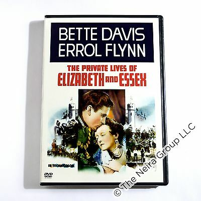 The Private Lives of Elizabeth & Essex DVD New Errol Flynn Bette Davis