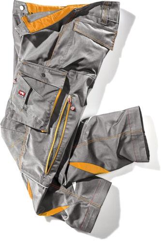 56 Bullstar Arbeitshose Ultra ca 245 g//qm grau//orange Gr