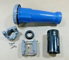 Hubbell 100 Amp 3 Phase Nylon Watertight 5 Pin Amp Sleeve Connector Blue 5100c9w
