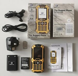 Fonerange Robusto duro 128 Dual SIM Mobile Phone (Sbloccato).