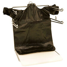 Black T Shirt Carry Out Thank You Bags Recyclable 300 Ct Plastic