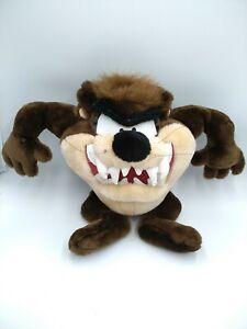 Vintage-16-034-Tazmanian-Devil-Taz-Plush-Doll-Looney-Tunes-Toy-Warner-Bros-1998