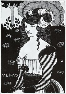 Aubrey-Beardsly-1899-litho-title-page-for-039-Venus-039-decadent-story-by-Beardsley