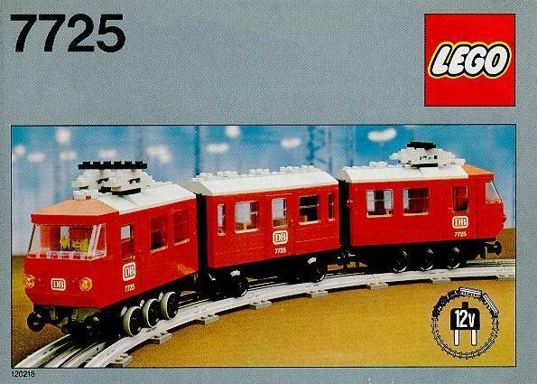 Lego Trains 7725 Electric Passenger Train NEW SEALED 1981' 12V Battery