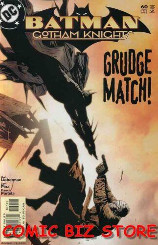 1ST PRINTING BAGGED /& BOARDED DC COMICS BATMAN GOTHAM KNIGHTS #60 2005