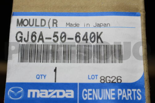 GJ6A50640K Genuine Mazda MOULD ,FRT.BELT GJ6A-50-640K R