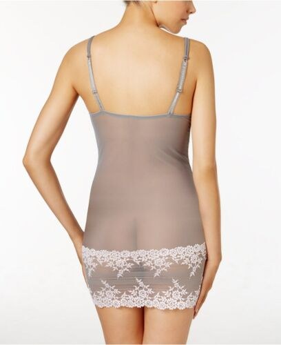 Wacoal Embrace Lace Frost Grey//Primrose Chemise 814191