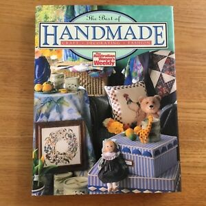 The-Best-Of-Handmade-The-Australian-Womens-Weekly-book-of-craft
