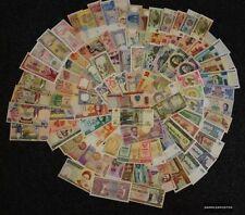 Alle Welt 100 verschiedene bankfrische Banknoten aus zahlreichen Ländern