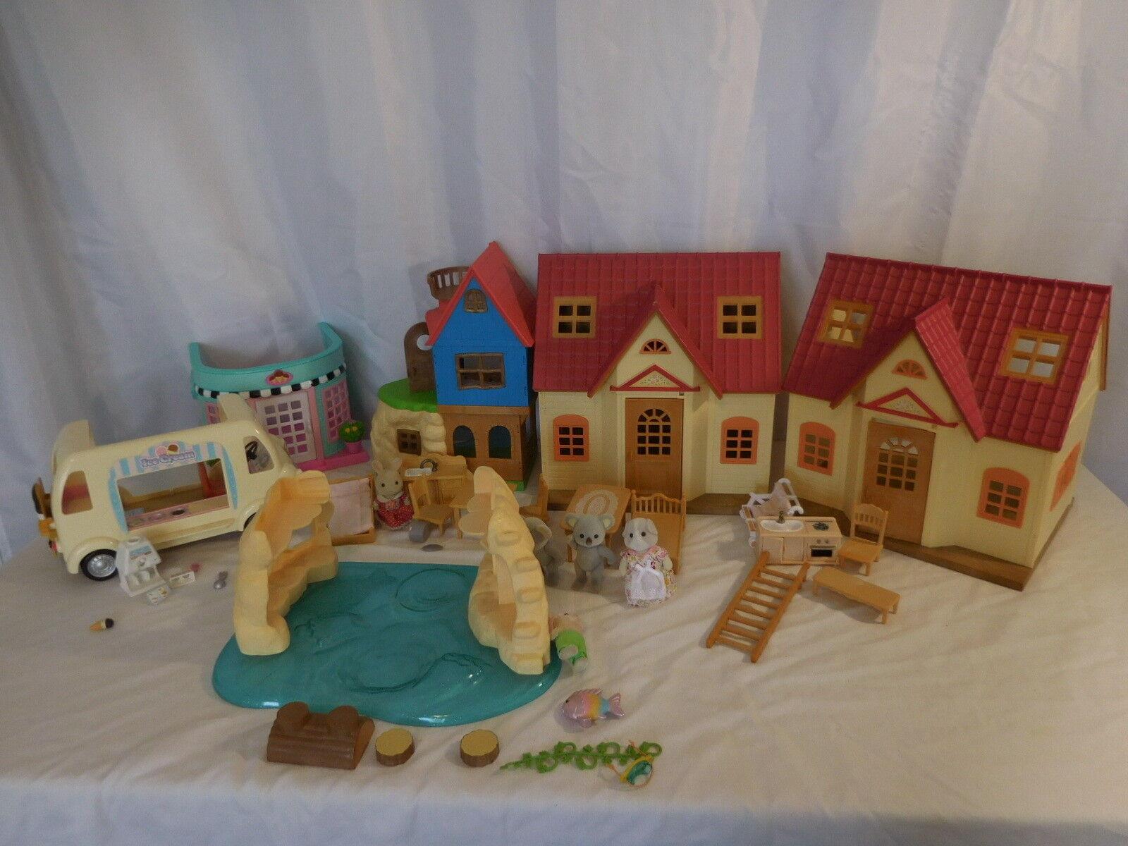 Bunte viecher viele gemtlichen landhaus zu hause lakeside lodge geheimen insel playhouse +