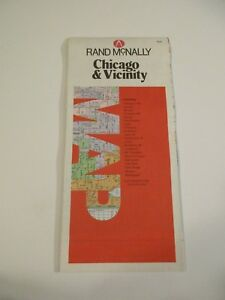 Details about Rand McNally Chicago & Vicinity Illinois City Street on illinois county map, illinois dot construction map, illinois interstate highway map, illinois airports map, illinois tollway map 294, illinois tolls rates map, illinois road atlas, illinois us 66 maps,