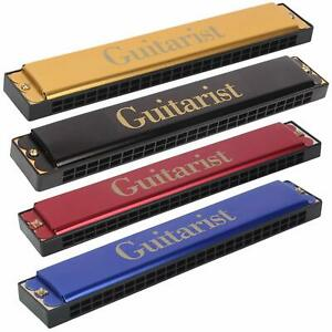 GT-24 Mouth Organ Harmonica 48 holes For Childerns (Multicolor) pack of 1